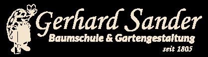 Gerhard Sander - Baumschule und Gartengestaltung